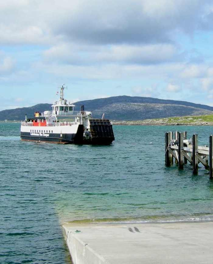 Western Isles ferry between Eriskay and Barra