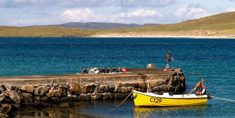 Isle of Barra, Eoligarry jetty