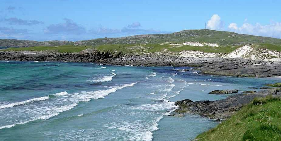 Isle of Barra, West coast