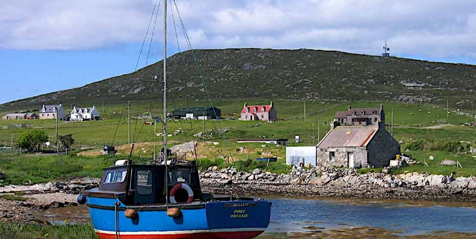 Berneray old boat