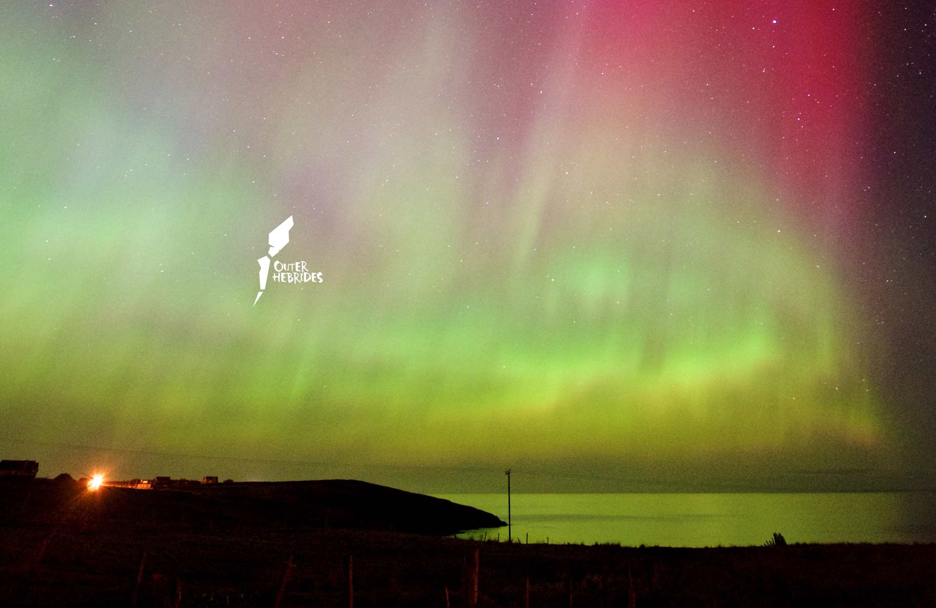 Aurora Borealis on the Isle of Lewis