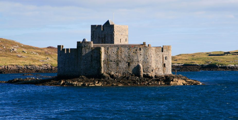 AFPEKW isle of barra kisimul castle isle barra castlebay Clan MacNeil western isles scotland uk gb