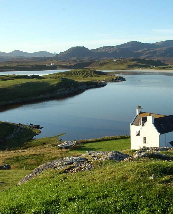 Baile na Cille Guest House location view