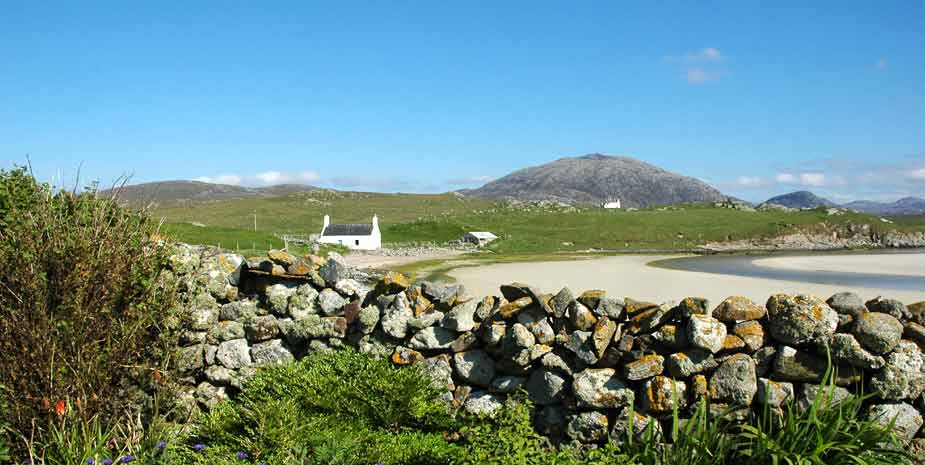 Baile na Cille Guest House view from garden