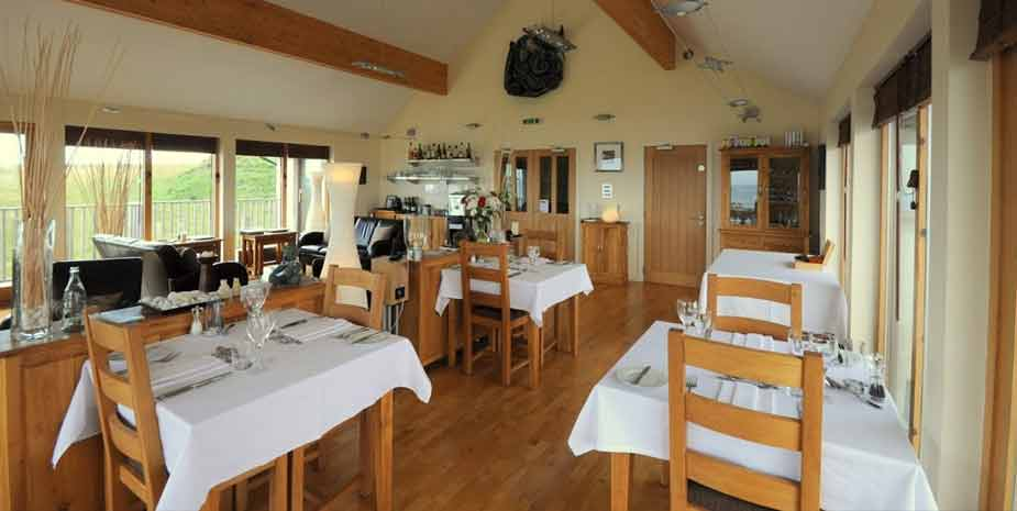 Broad Bay House dining