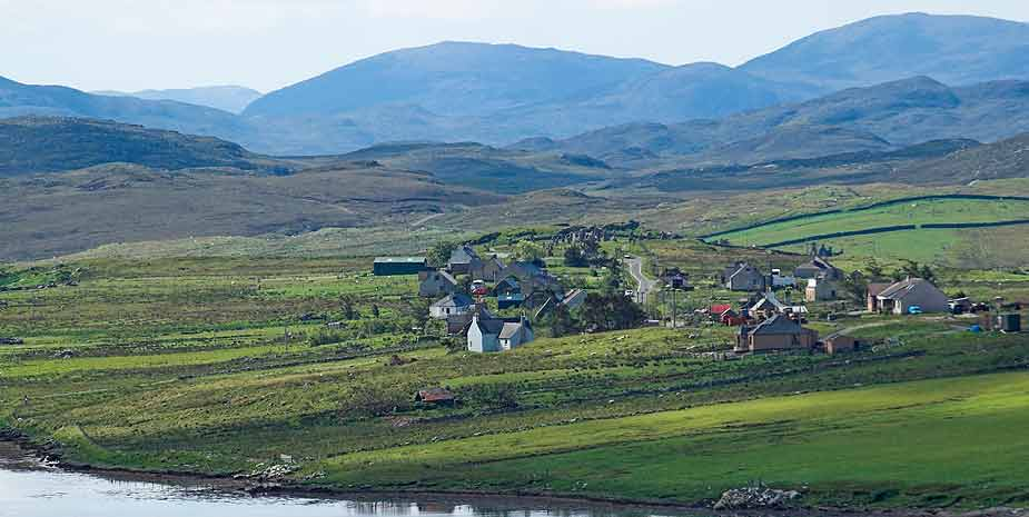 Loch Roag Guest House Callanish view