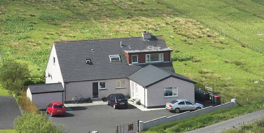 Loch Roag Guest House rear view