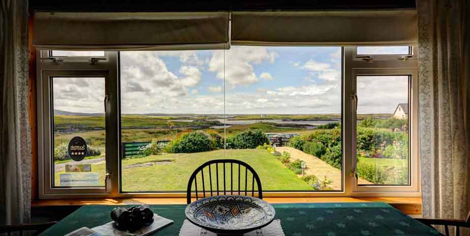 Ardnastruban House - view from lounge